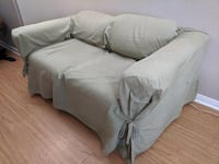 Couch and slipcover