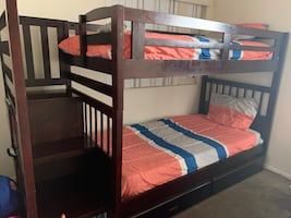 Twin bunk bed for sale $300