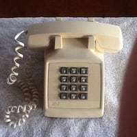 At&t white home telephone