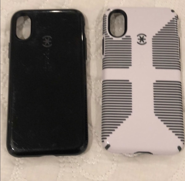 2 Speck iPhone X cases