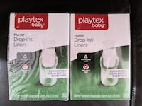 Playtex bottle drop ins  Toronto, M3J 1E3