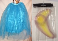Adult Women Costume Long Tulle Fairy Butterfly Skirt + Big Wings SET = NEW Hamilton, ON L8E 3X9, Canada