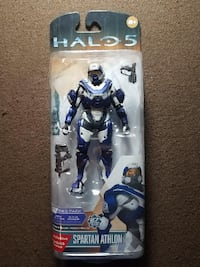 Halo 5 Toy - Guardians Series 1 Spartan Athlon Deluxe 6 Inch Action Figure by McFarlane Mesquite