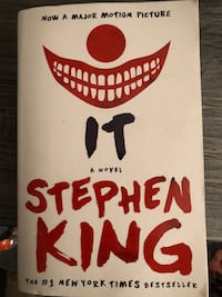 Stephen King IT (Book) Weston, 02493