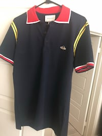 black and red Adidas polo shirt Los Angeles, 90501