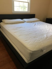 King size bed and mattress  Arlington, 22204