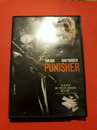The Punisher DVD Movie w/ Tom Jane, John Travolta!!