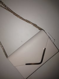 white and black leather crossbody bag West Ryde, 2114