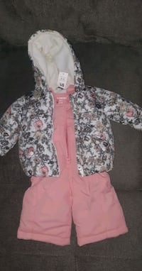 3-6 MONTHS WINTER COAT AND PANTS