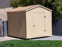 8x10 shed with a single door  Las Vegas, 89120