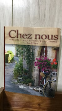 Chez nous fourth edition French text book Opelousas, 70577