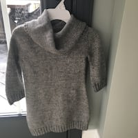 Girls size 7/8 gray sweater dress  Centreville, 20120