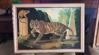 tiger painting Independence