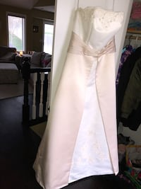 Ivory and Champagne Strapless Wedding Dress Lincoln, 68507