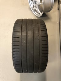 Porsche - 911 carerra - set of 2 rear tires and rims Vaughan