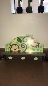 white and green wooden crib San Diego, 92130