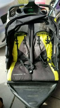 black and yellow hiking backpack Syracuse, 84075