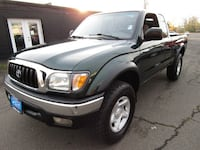 2001 Toyota Tacoma XtraCab V6 Manual 4X4 *GREEN* RUNS OUT GREAT !! Milwaukie, 97222