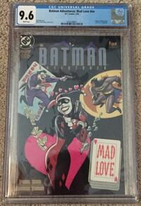 Batman Adventures Mad Love Harley Quinn Origin CGC 9.6 NM+