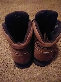 pair of brown leather work boots Mobile, 36605
