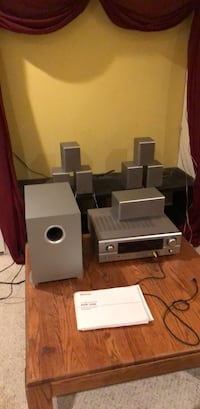 gray and black home theater system Vancouver, V6S 1G6