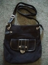 black Cotton crossbody bag screenshot Kelowna, V1X 7Z6