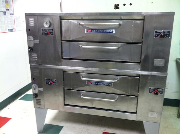 Used Pizza Ovens For Sale >> 4 Pie Bakers Pride Pizza Ovens