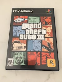 Grand theft auto 3 for PS2 Whitby