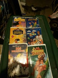 four assorted movie DVD cases Manchester, 03103