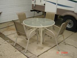 Patio Table And Chairs $80,