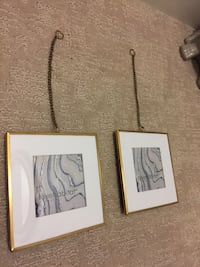 Beautiful gold hanging picture frames Vancouver, V5S
