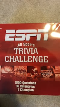 espn all sport trivia challenge box Freehold township, 07728