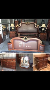 Used Bedroom sets excellent condition semi new  Bakersfield, 93304