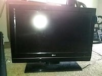 black LG flat screen TV lcd Albuquerque, 87114