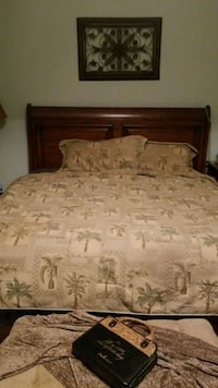 King size frame and mattress
