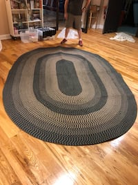 round black and gray area rug Dover, 07801