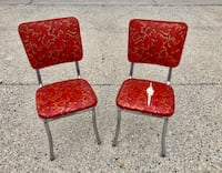 Red Vintage Chairs Fargo, 58103
