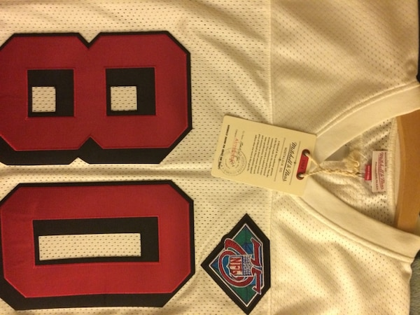 online store 6fa25 6de25 Authentic Mitchell and Ness 1994 Jerry Rice Throwback Away Jersey - NEW  (Men's 40)