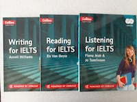 COLLINS IELTS Listening - Reading -  Writing for IELTS ISTANBUL
