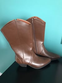 Size 6 Brown Boots - Brand New  Markham, L3S 4N3