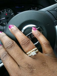 Gold Diamond ring, brand new.  Suitland-Silver Hill