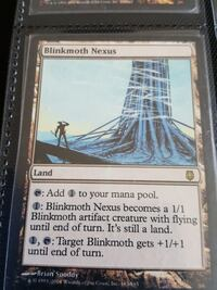 Blinkmoth Nexus MTG Magic the Gathering proxy 548 km