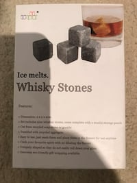 Ice melts whiskey stones box