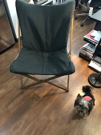 black and gray folding chair Nashville, 37208
