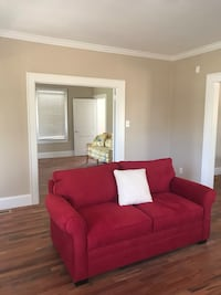 Red Love Seat - Like New! Charlotte, 28203