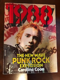 Vintage punk rock book