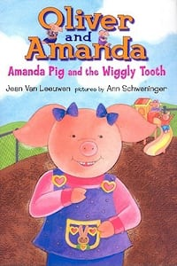 Pls read ad * NEW-GIFTABLE * RETAILS $18.50 + tax HARD COVER * Oliver & Amanda & the Wiggly Tooth