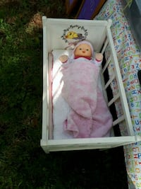 Crib and mattress and doll Rocky Point, C0A 1H2