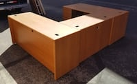 Large office desk made by Hon Henderson, 89074