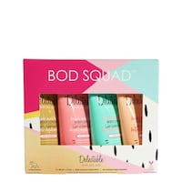 Delectable by Cake Beauty Bod Squad Triple Moisture Body Lotion Collection 4 x 60 mL Toronto